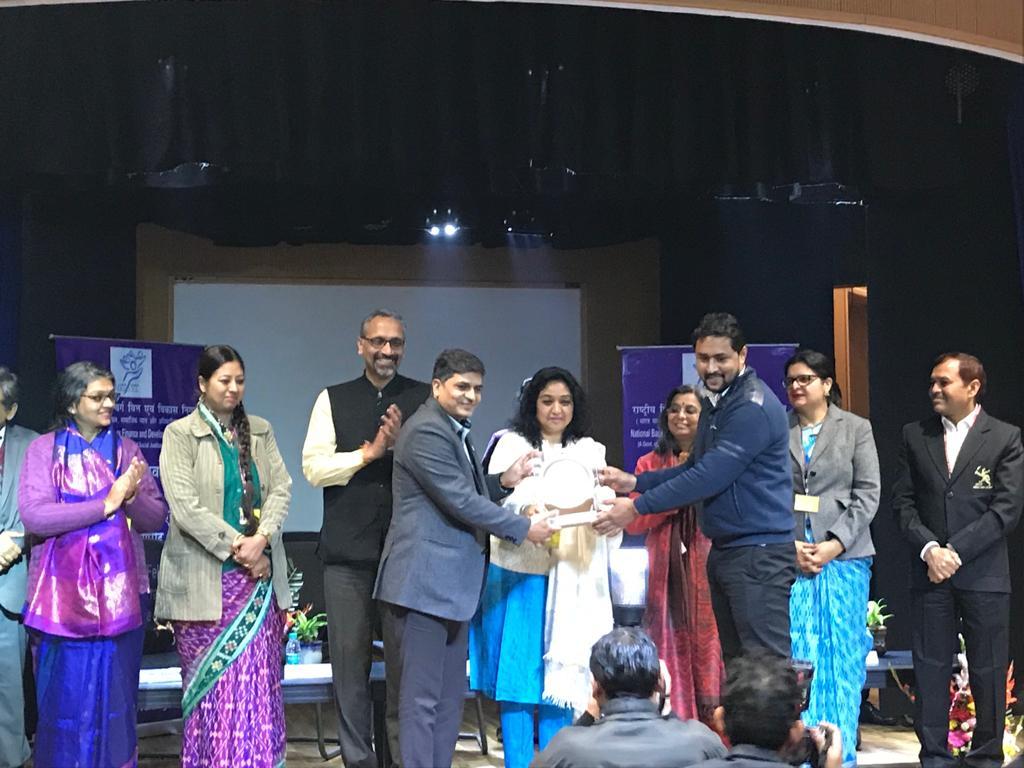 Team TSC Receiving Meritorious Performance Award