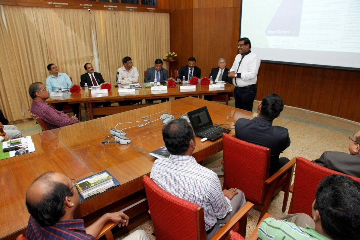 SmartCentre Launch at SIMA, Coimbatore on 24th Sept 2015