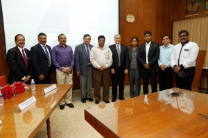 SmartCentre Launch at SIMA, Coimbatore on 24th Sept 2015. Representatives from Campus Management, NSDC, SIMA, Texpeneure and TSC